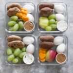 Tired of spending all your money on the Starbucks Eggs and Cheese Protein Box? Well, you can make your own! These Healthy Make Ahead Snack Boxes are inspired by Starbucks and are so easy to make at home!