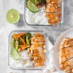 Sheet Pan Thai Peanut Chicken Meal Prep