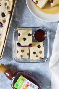 Easiest way to cook breakfast for a crowd or as a breakfast meal prep, theseSheet Pan Oven Baked Pancakes will definitely make mornings more delicious!