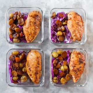 Korean Chicken and Potatoes Meal Prep