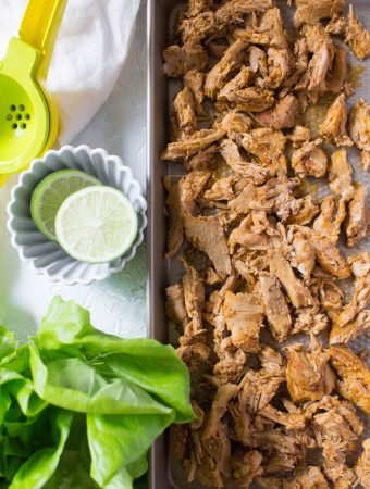 Instant Pot Carnitas - an easy and versatile recipe! Great for meal prepping, a quick dinner, or to freeze for later.