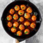 Tteokbokki Inspired Korean Meatballs