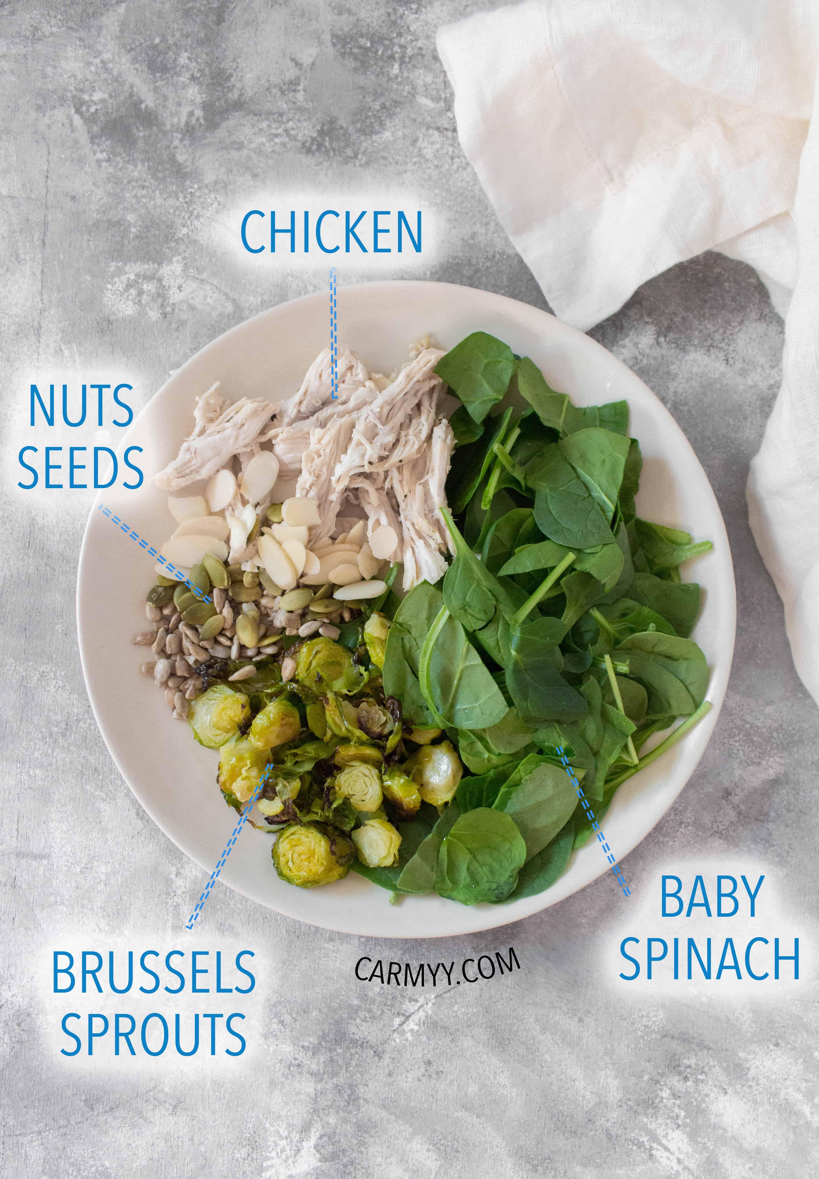 what's in a mason jar salad