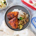Spicy Korean Chicken Meal Prep