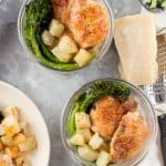 This easy Herb Chicken with Broccolini Meal Prep is an easy dish to throw together quickly on a busy weekend so you don't spend all day meal prepping for the week!