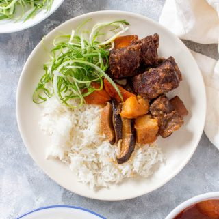 Korean Instant Pot Beef Short Ribs