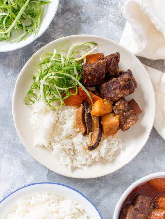 Korean Instant Pot Beef Short Ribs