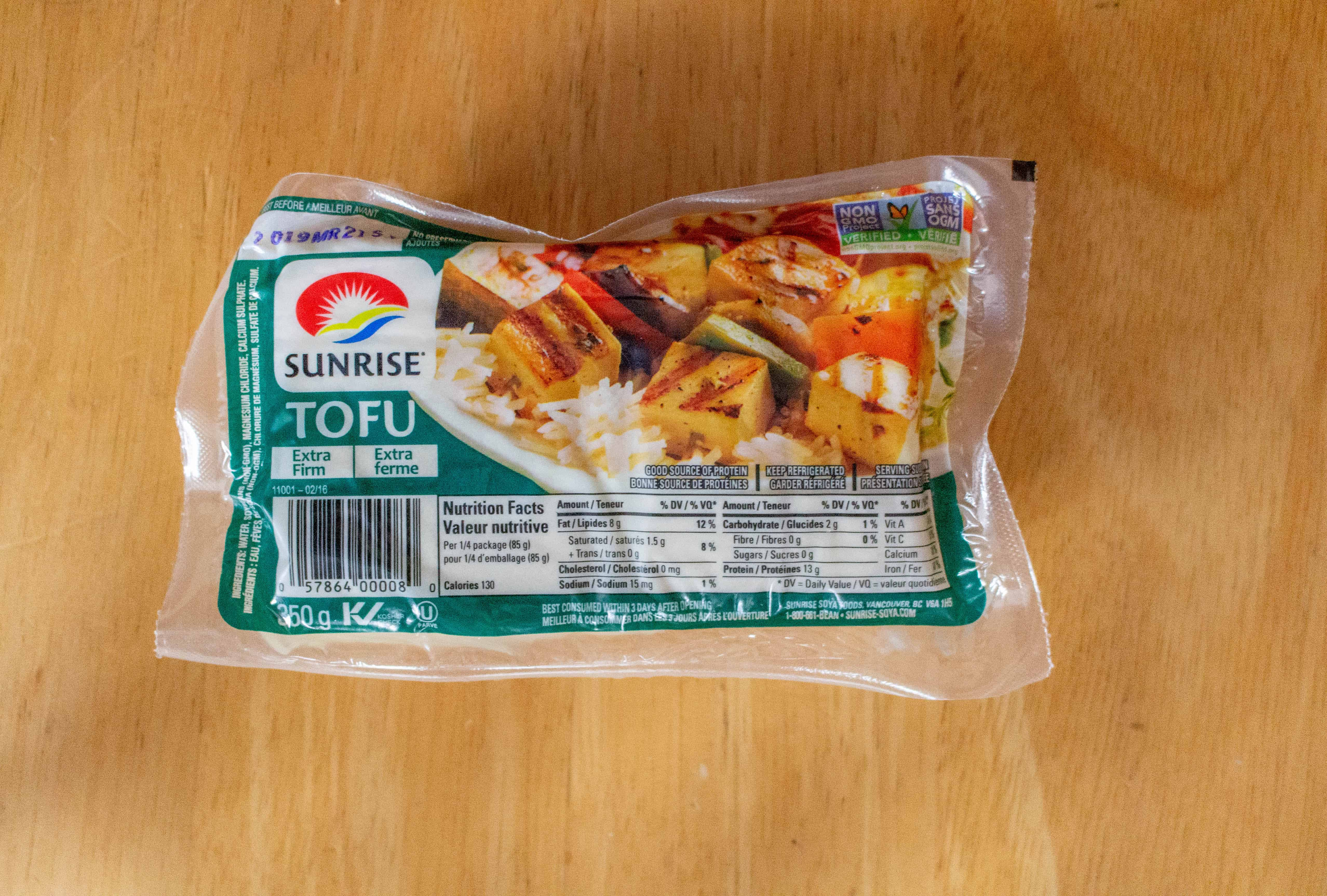 crispy tofu at home with an air fryer
