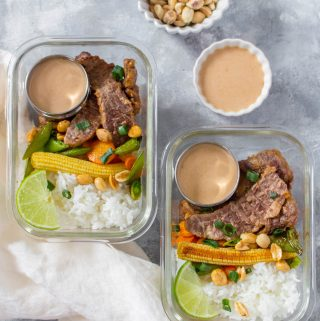 easy homemade beef satay