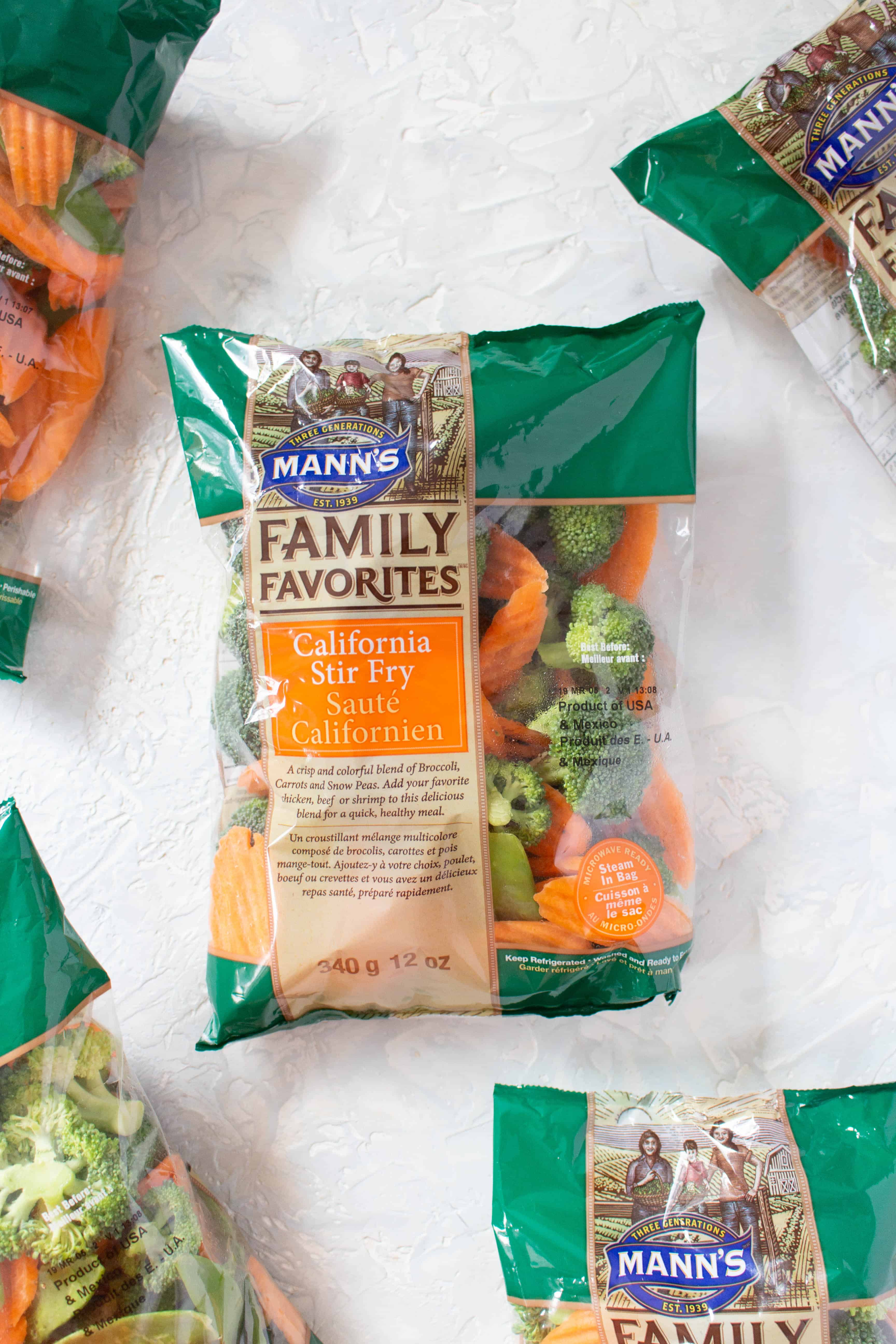 how to use Mann's Fresh Vegetables' California Stir Fry