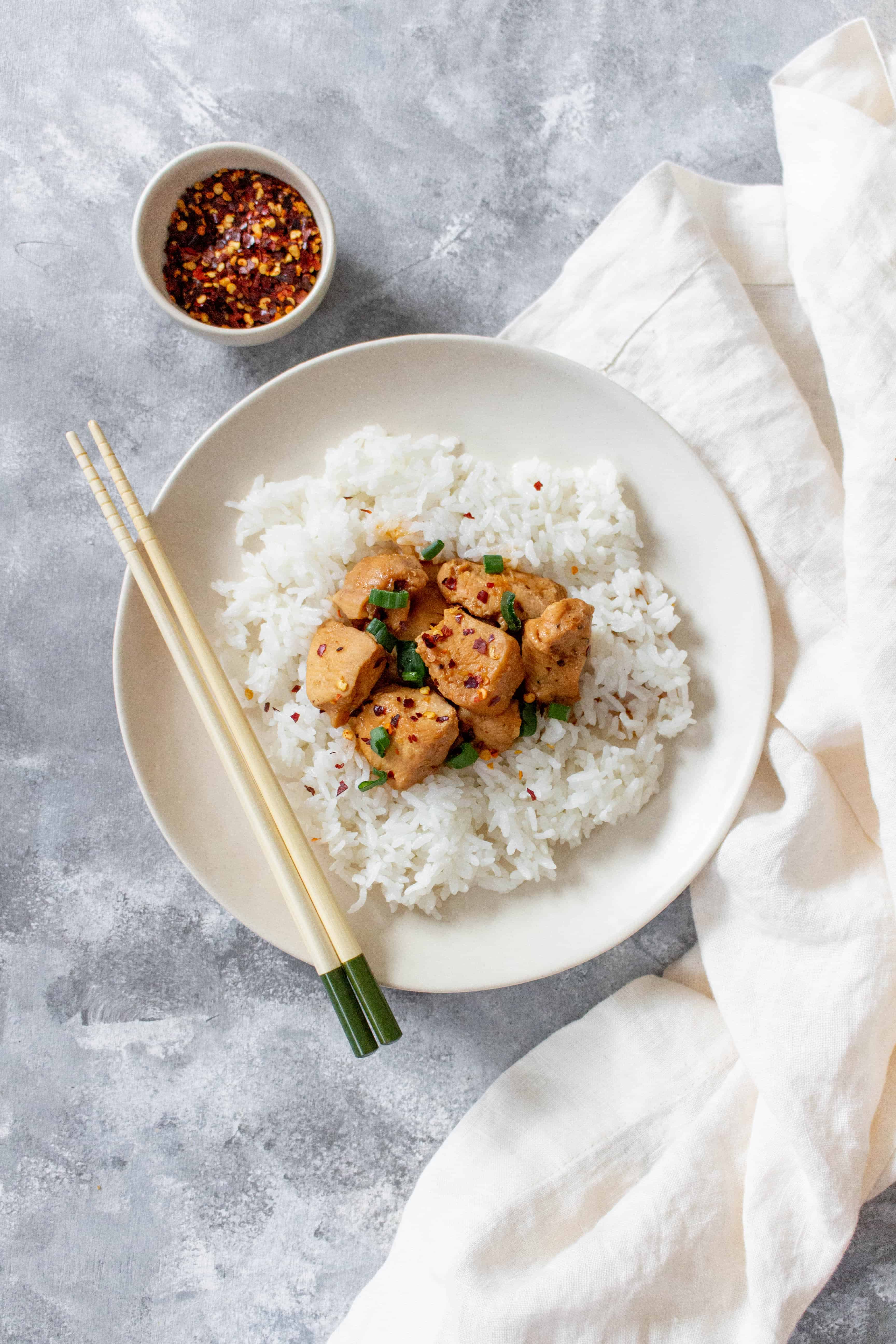 step by step photos on how to make instant pot honey garlic chicken breast