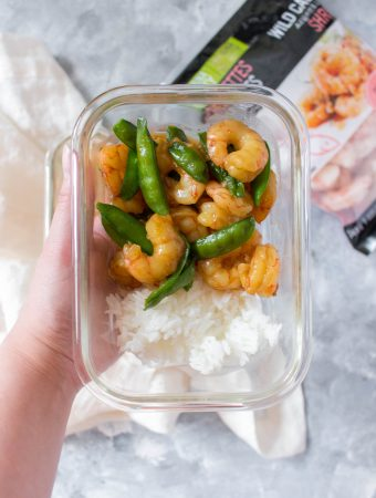 You're going to immediately wonder why you don't make this more often. This easy Shrimp Teriyaki takes under 30 minutes to put together and makes for the perfect meal prep!