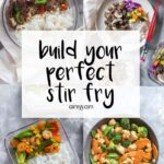 A stir fry is the easiest way to whip up a quick and healthy meal, whether it be as a last minute dinner or as a meal prep! It's versatile, easy to build on, and uses a lot of pantry/kitchen staples. Check out this guide to help you master the stir fry!
