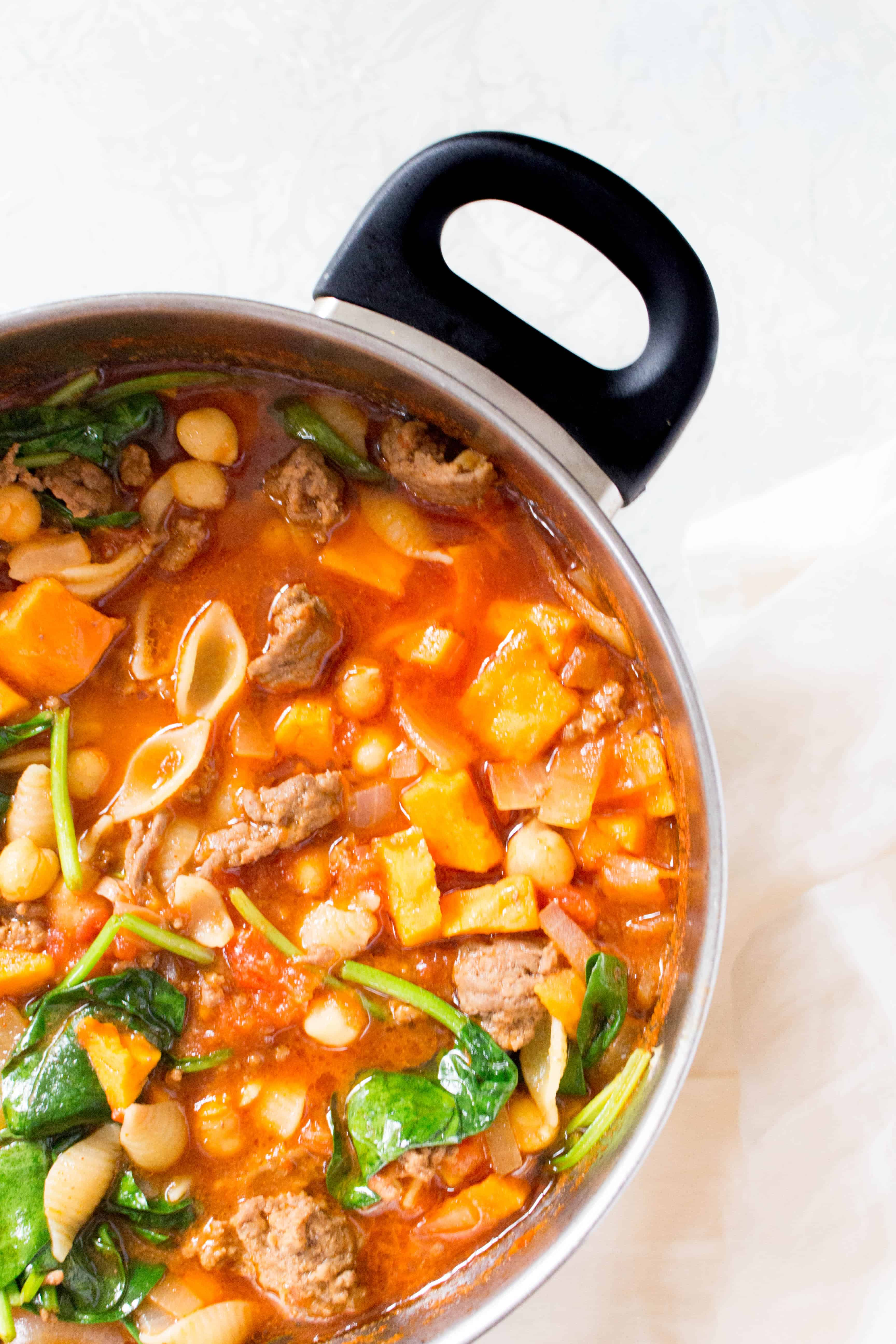 healthy hamburger soup