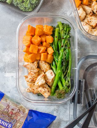 Want to try something other than plain chicken for your meal prep this week? This super easy Peri Peri Chicken Meal Prep takes under 35 minutes to make from start to finish!