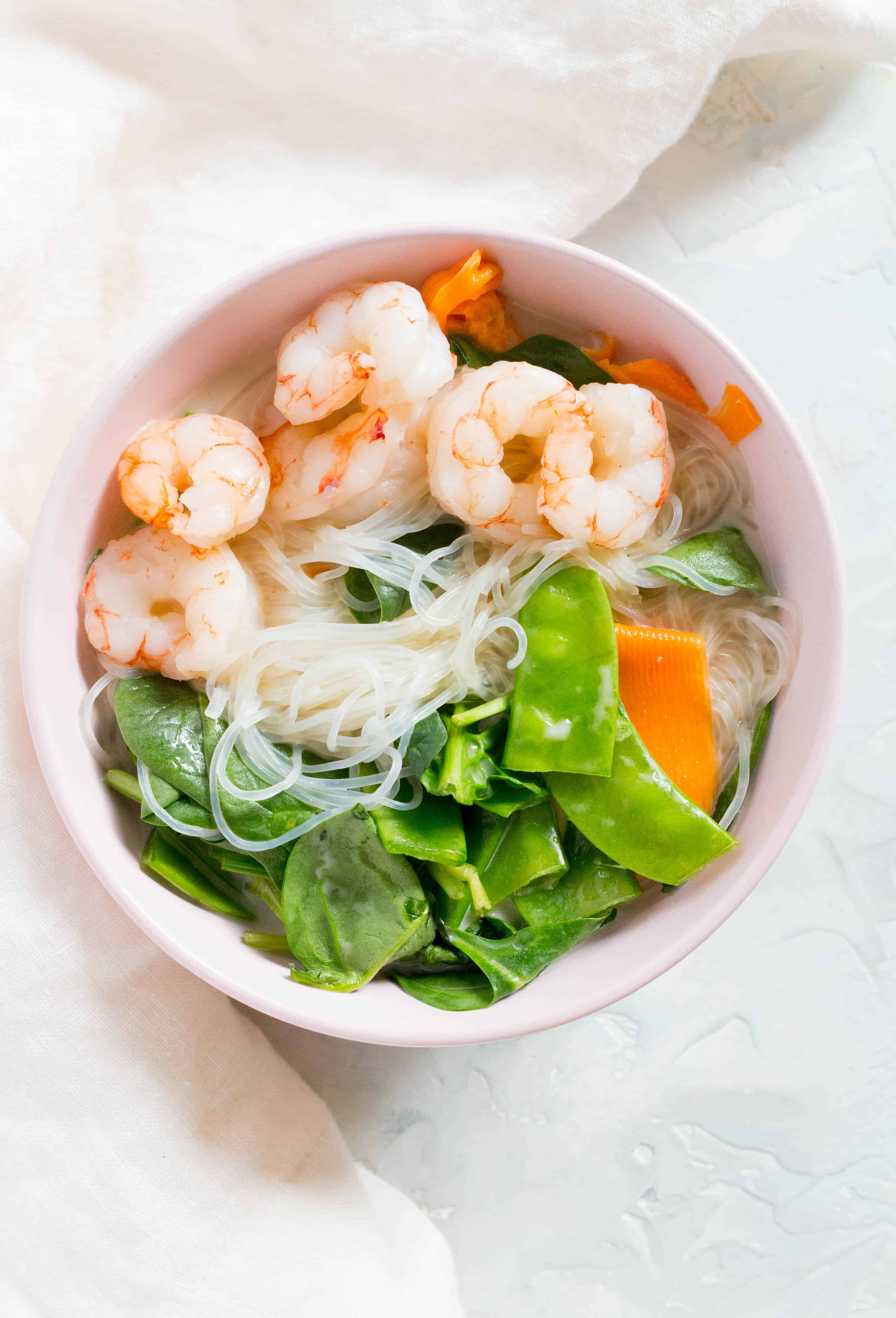 Thai Shrimp Noodles in a Jar