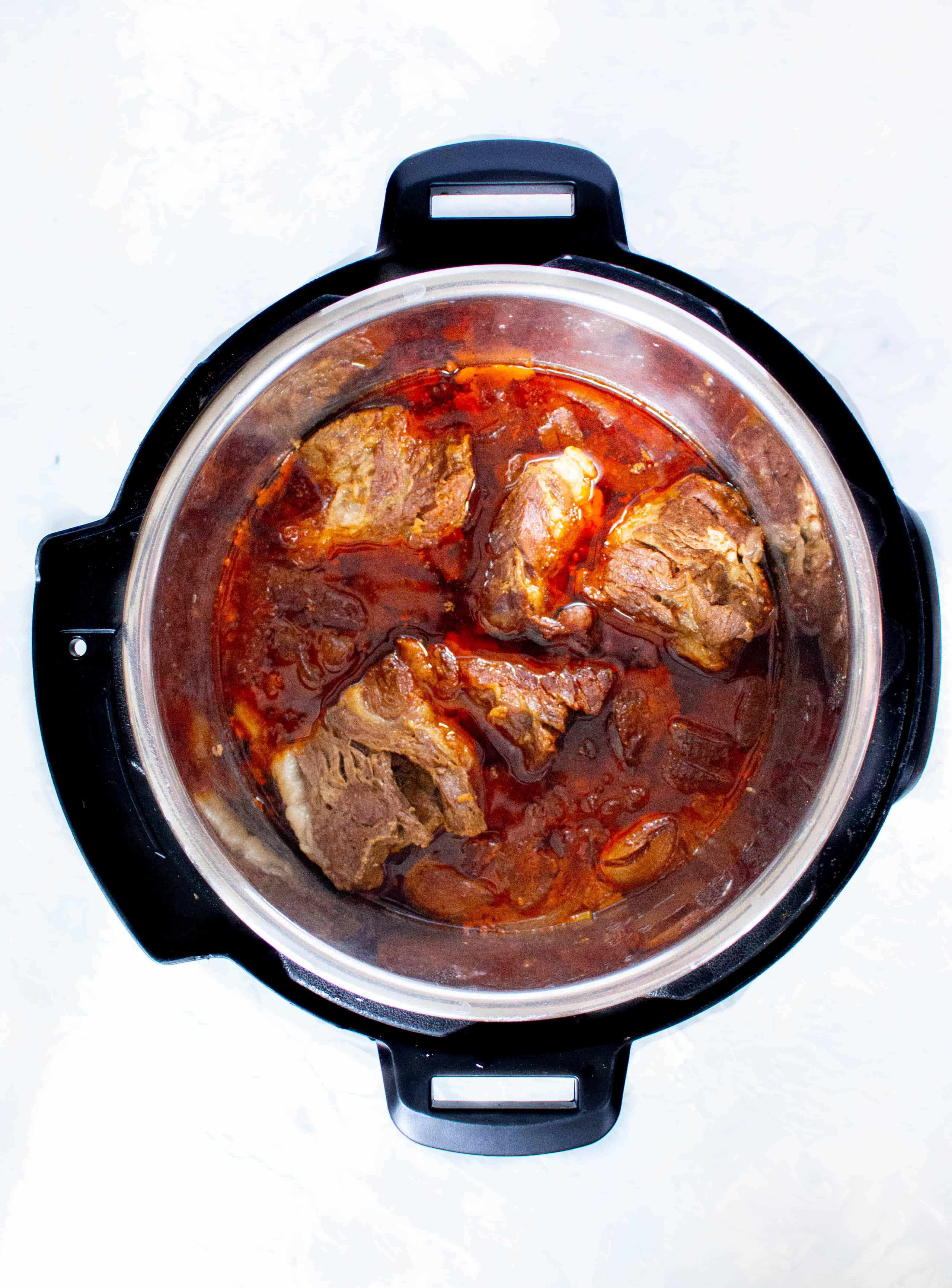 korean style instant pot ragu