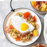 Made with easy to find ingredients, this Hawaiian Breakfast Fried Rice makes for a delicious morning!