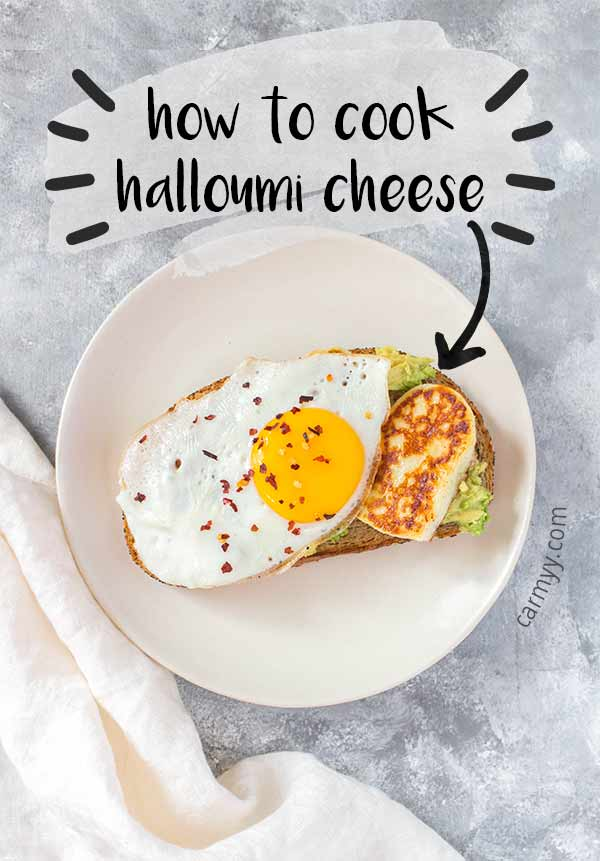 Curious about how to cook halloumi? This post will show you how to fry halloumi perfectly plus how to store it.