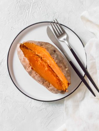 How To Make Baked Sweet Potatoes in the Air Fryer