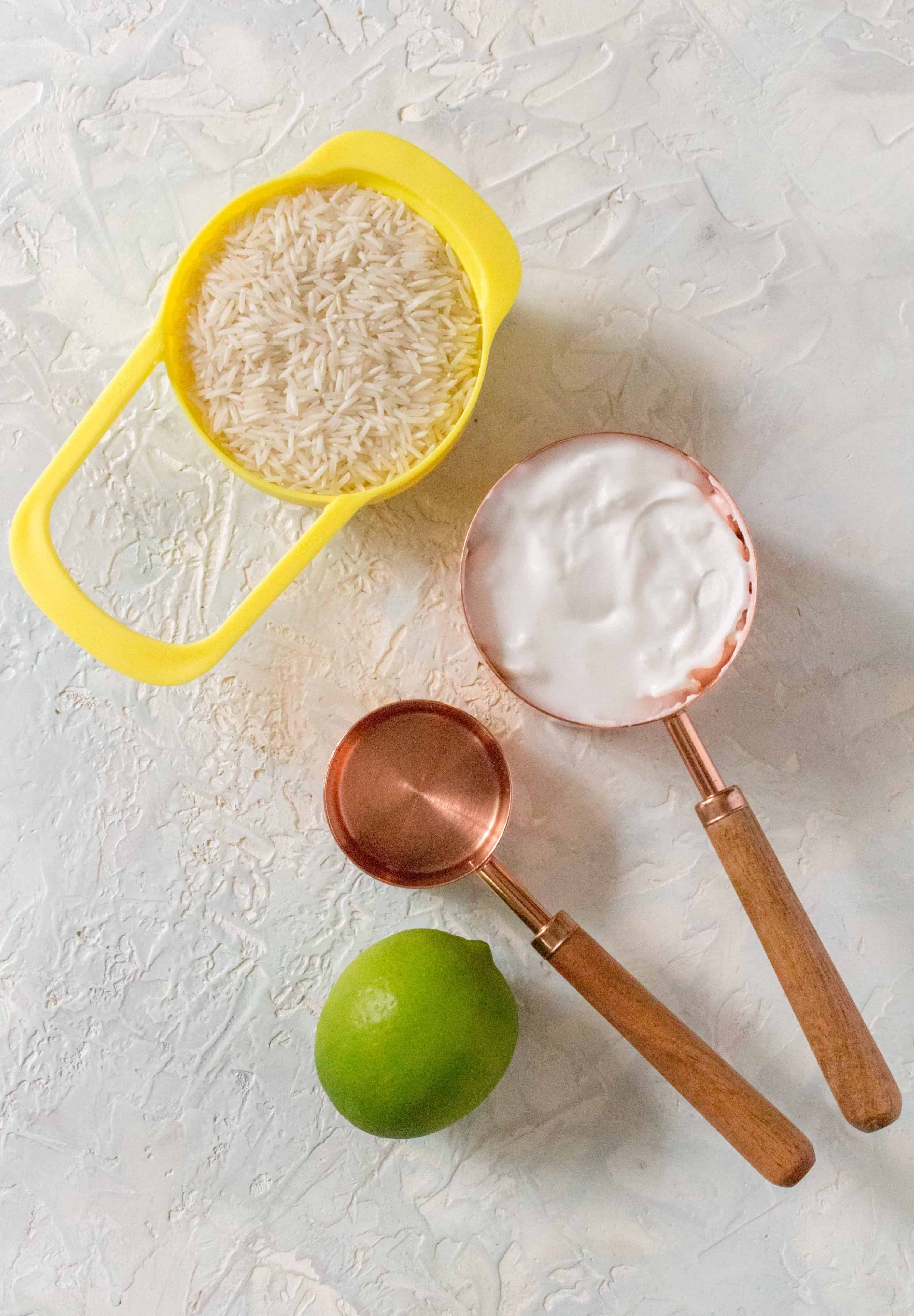 What You'll Need To Make Coconut Rice in the Instant Pot