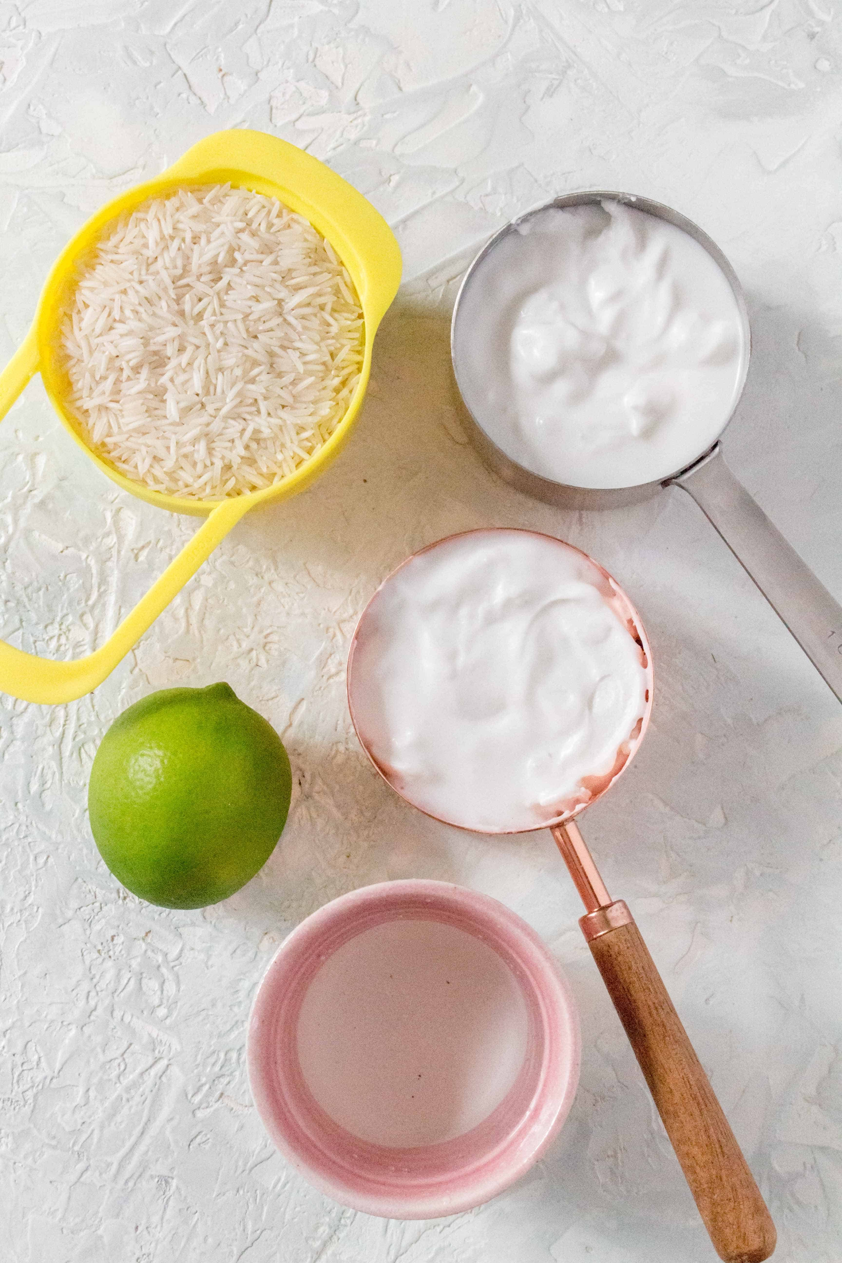 What You'll Need To Make Coconut Rice on the Stovetop