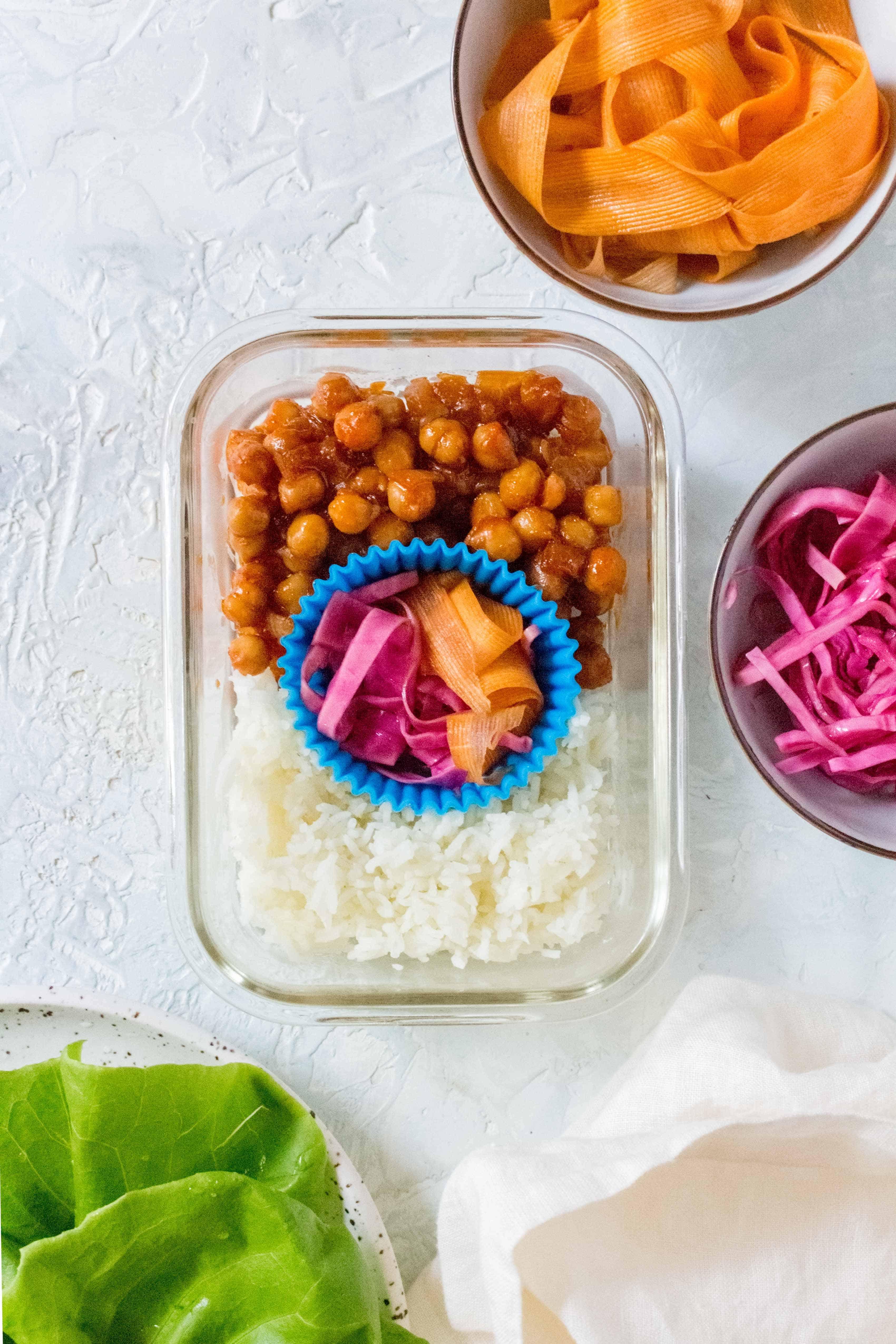 Korean Inspired Chickpea Recipe