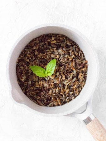 Full of fibre and protein, you're going to want to add wild rice to your meals! Here's how to cook wild rice perfectly on the stovetop!