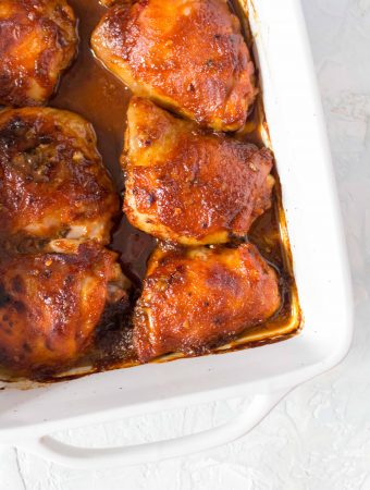 This easy baked Firecracker Chicken recipe is going to knock your socks off! This Firecracker Baked Chicken Thighs is spicy, full of flavour, and works great for dinner or as a meal prep!