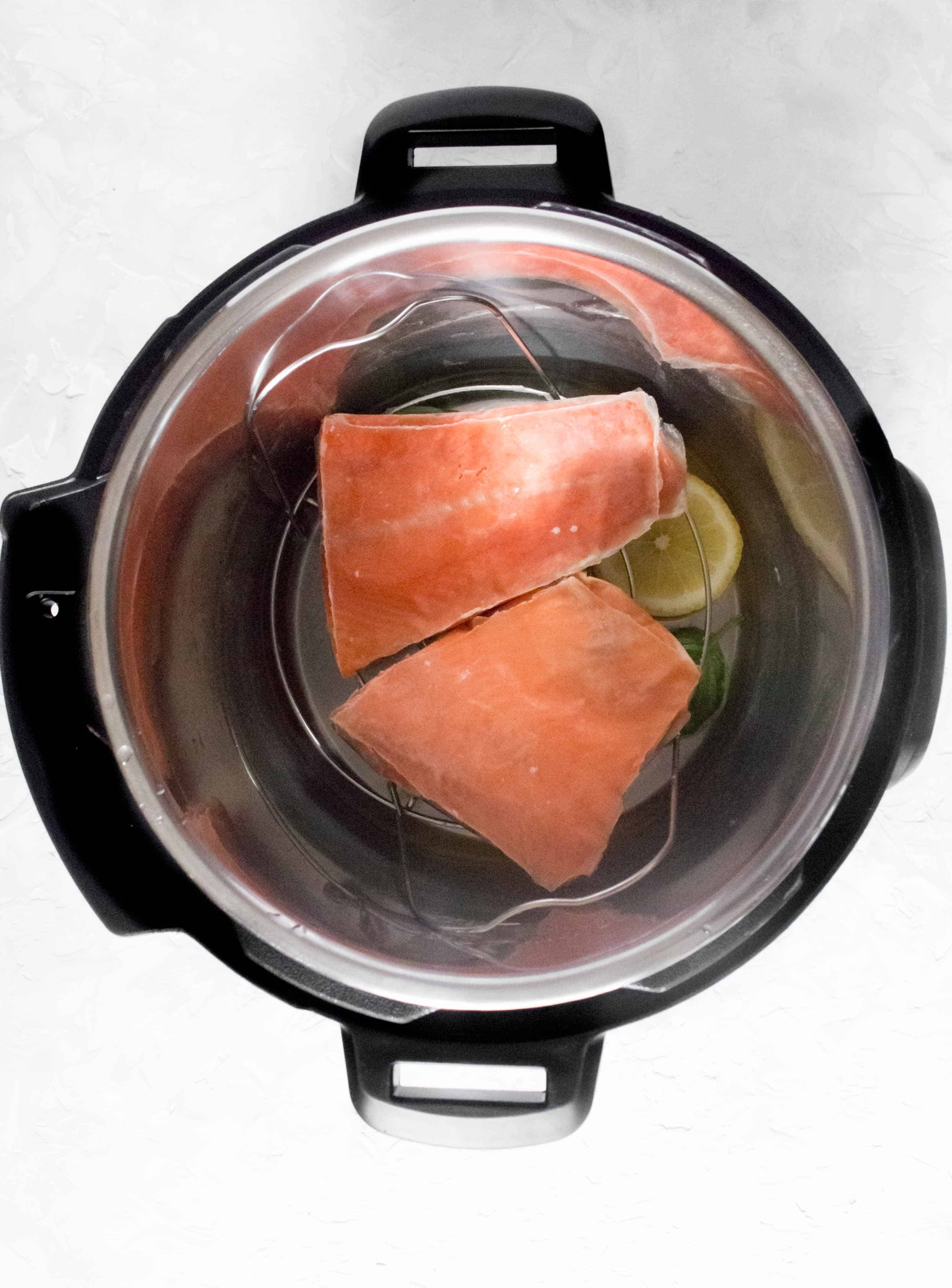 How to Make Frozen Salmon in the Instant Pot