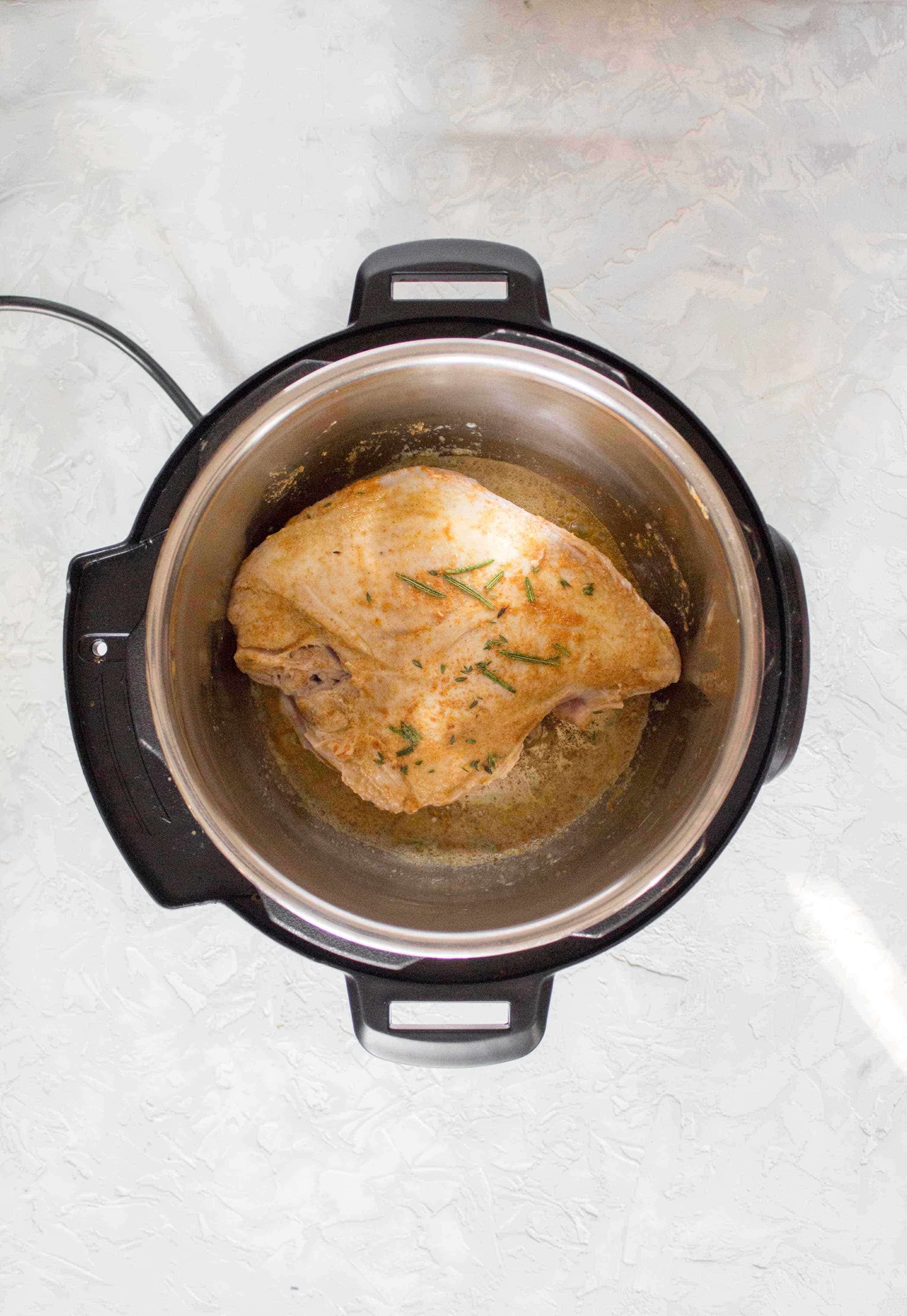 making turkey in the instant pot