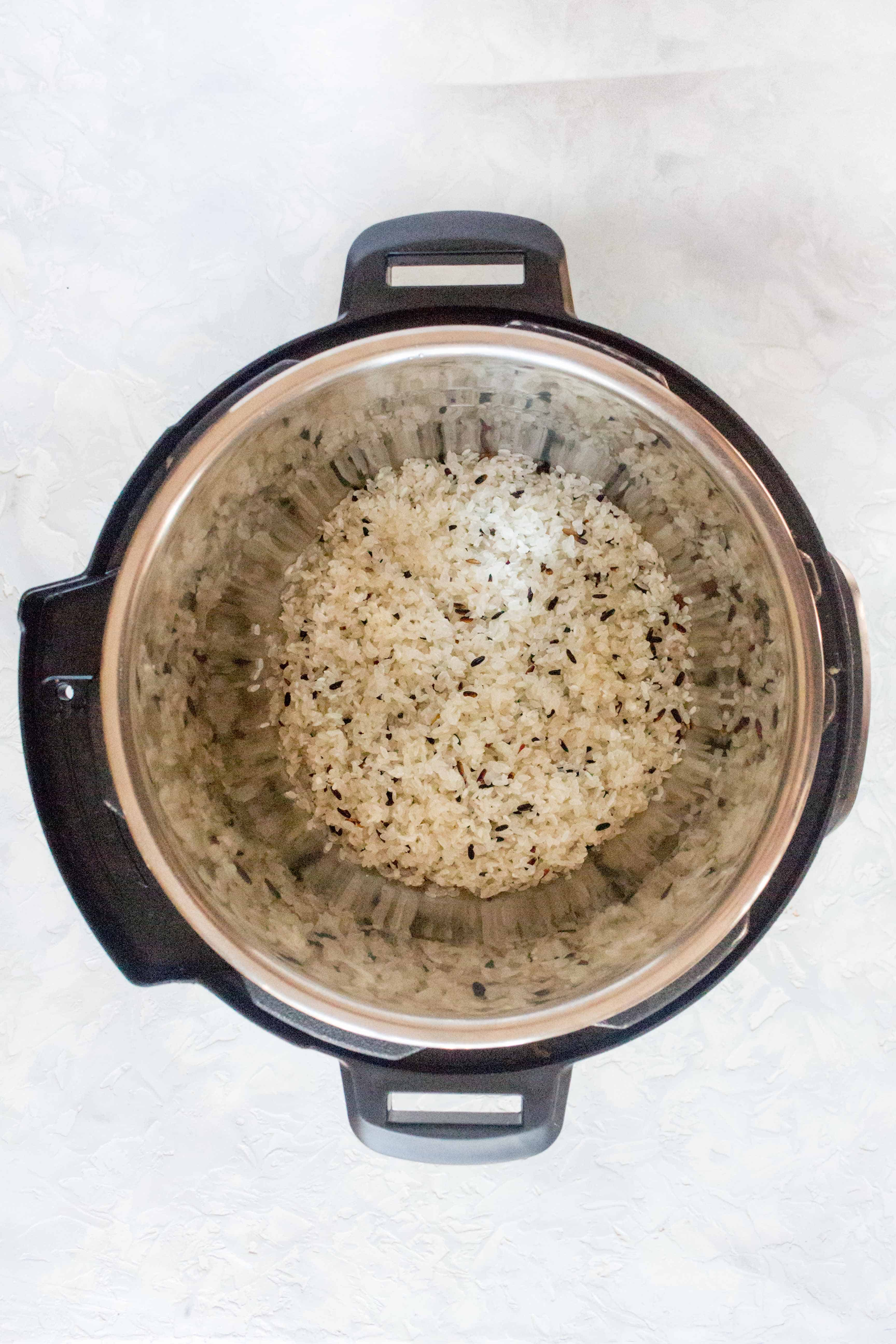 How To Use Your Instant Pot To Make Purple Rice
