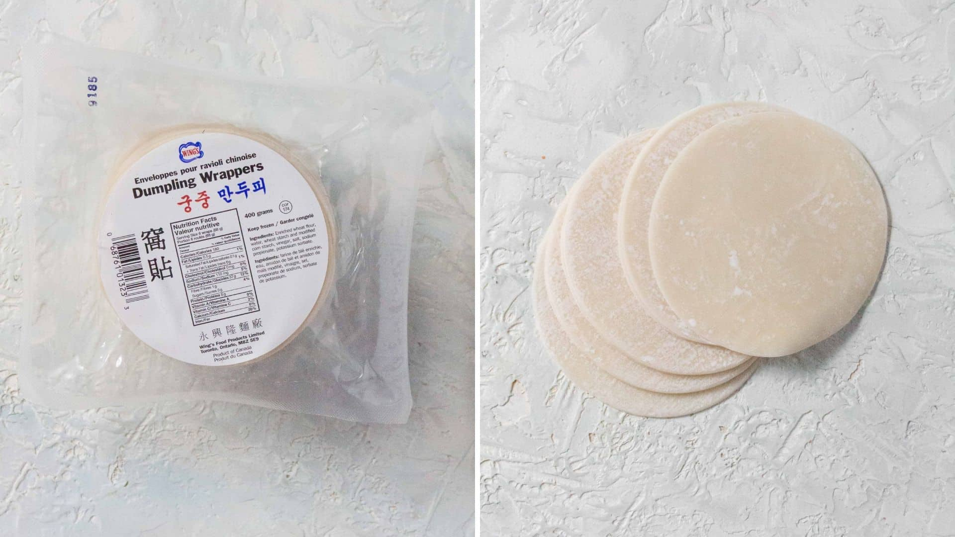 dumpling wrappers for potstickers