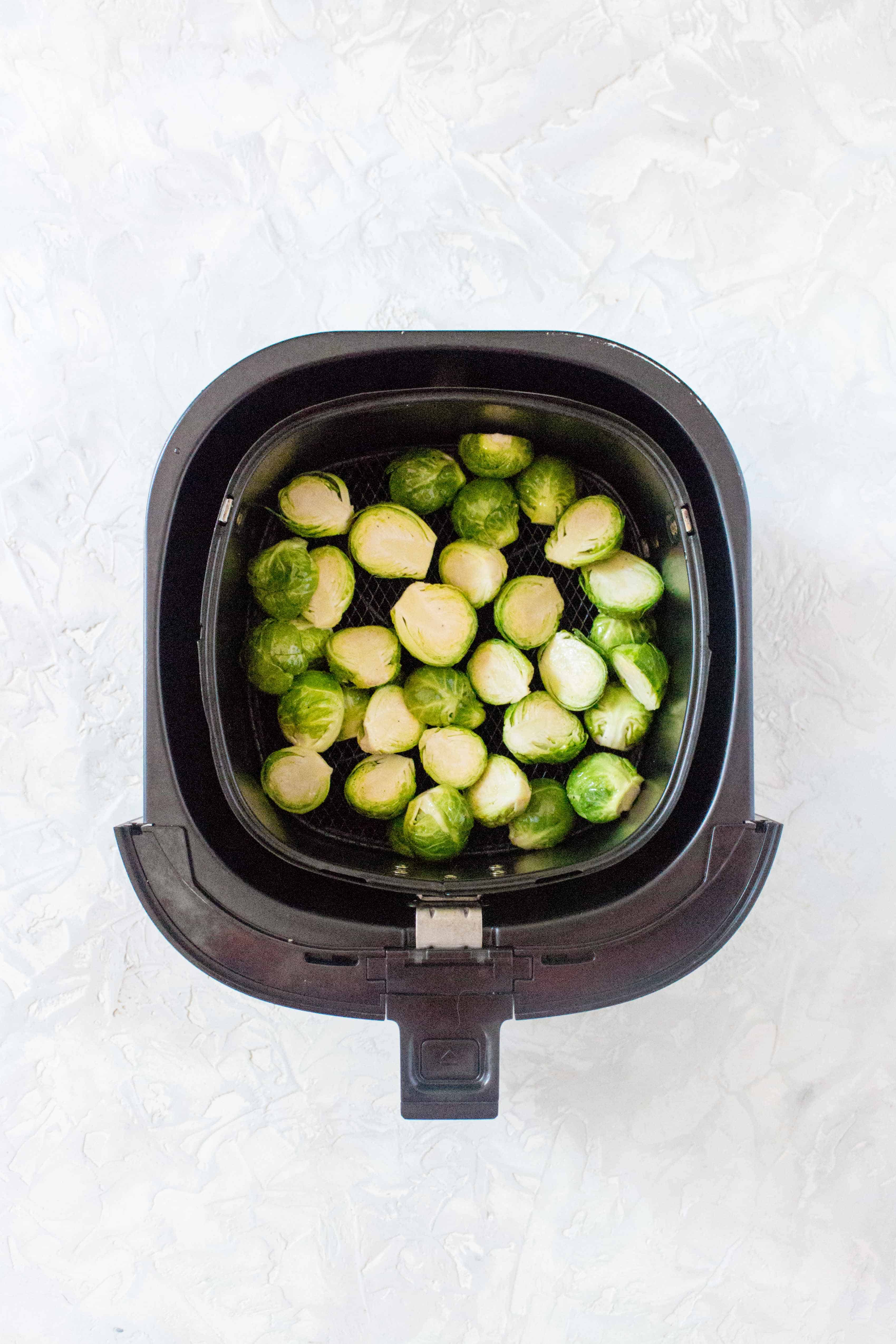 how to use an air fryer to make brussels sprouts