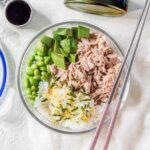 tuna sushi bowl meal prep