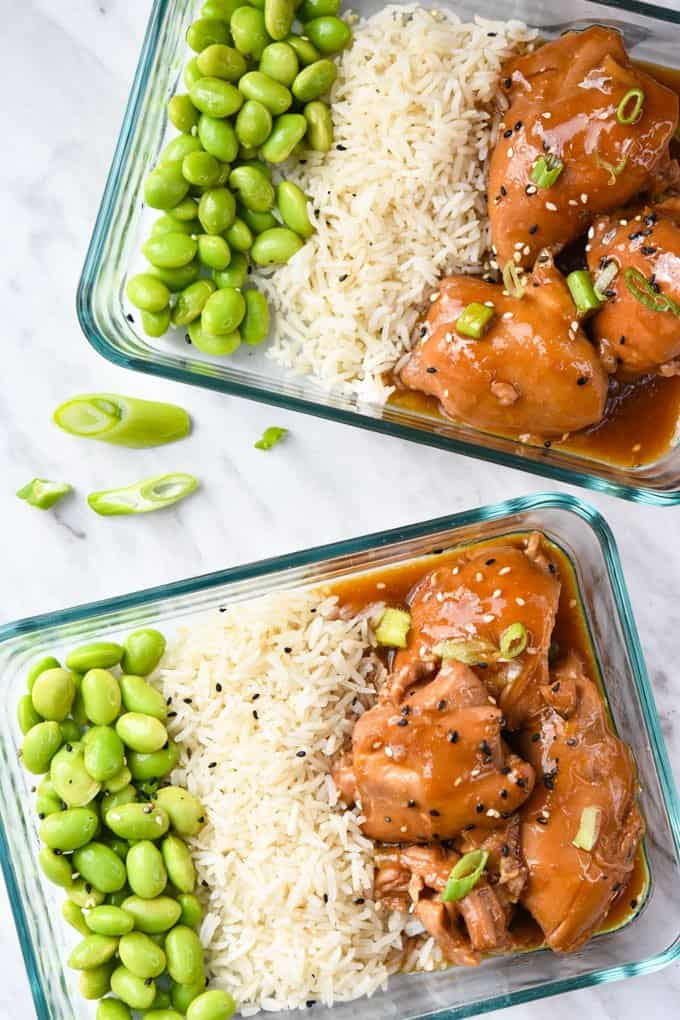 This Instant Pot Chicken Yakitori is a modern twist on a Japanese classic that can be done all in one pot quite easily, and also freezes great!
