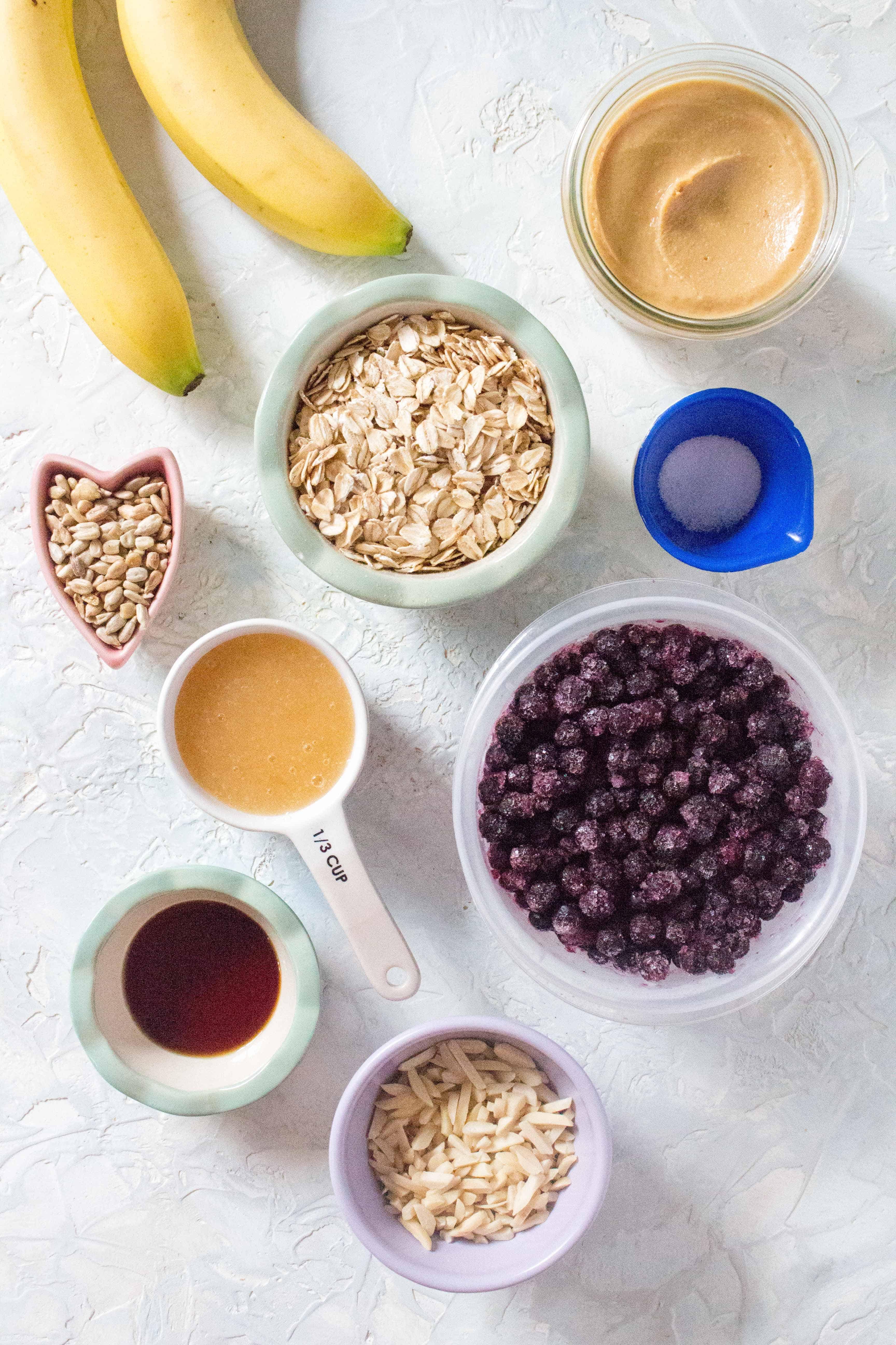 Wholesome Breakfast Cookies Ingredients