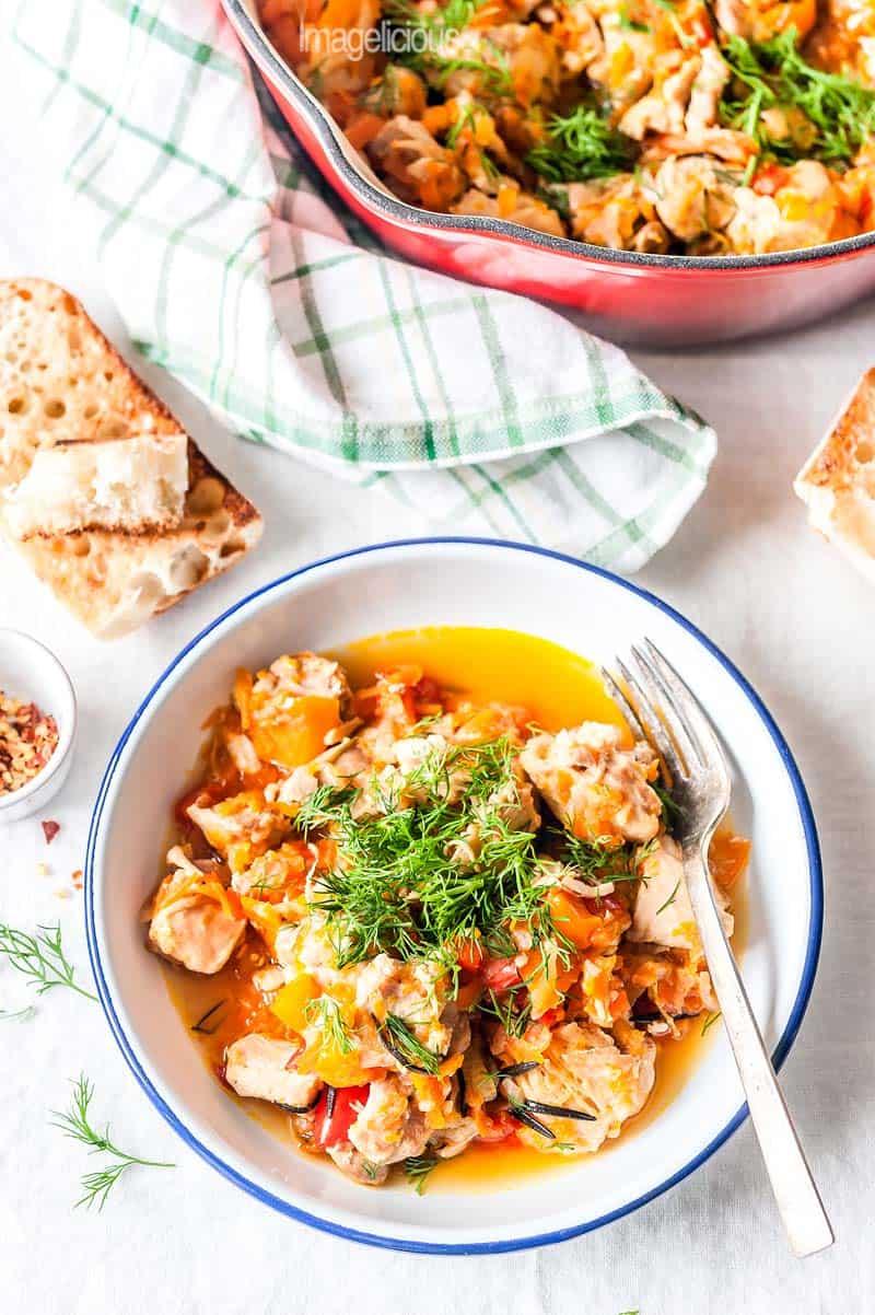 healthy chicken stew