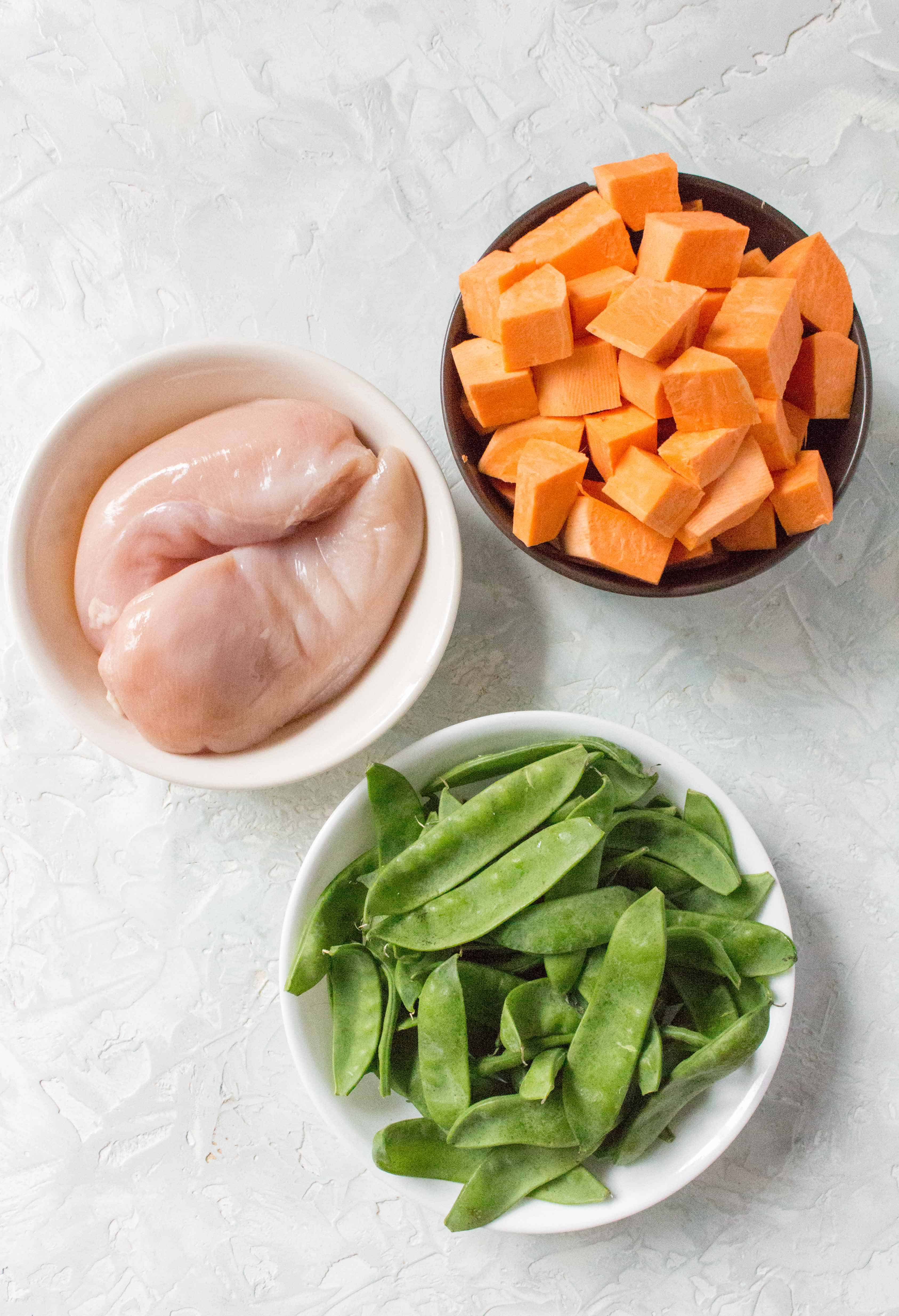 What You'll Need To Make This Easy Chicken and Vegetable Meal Prep