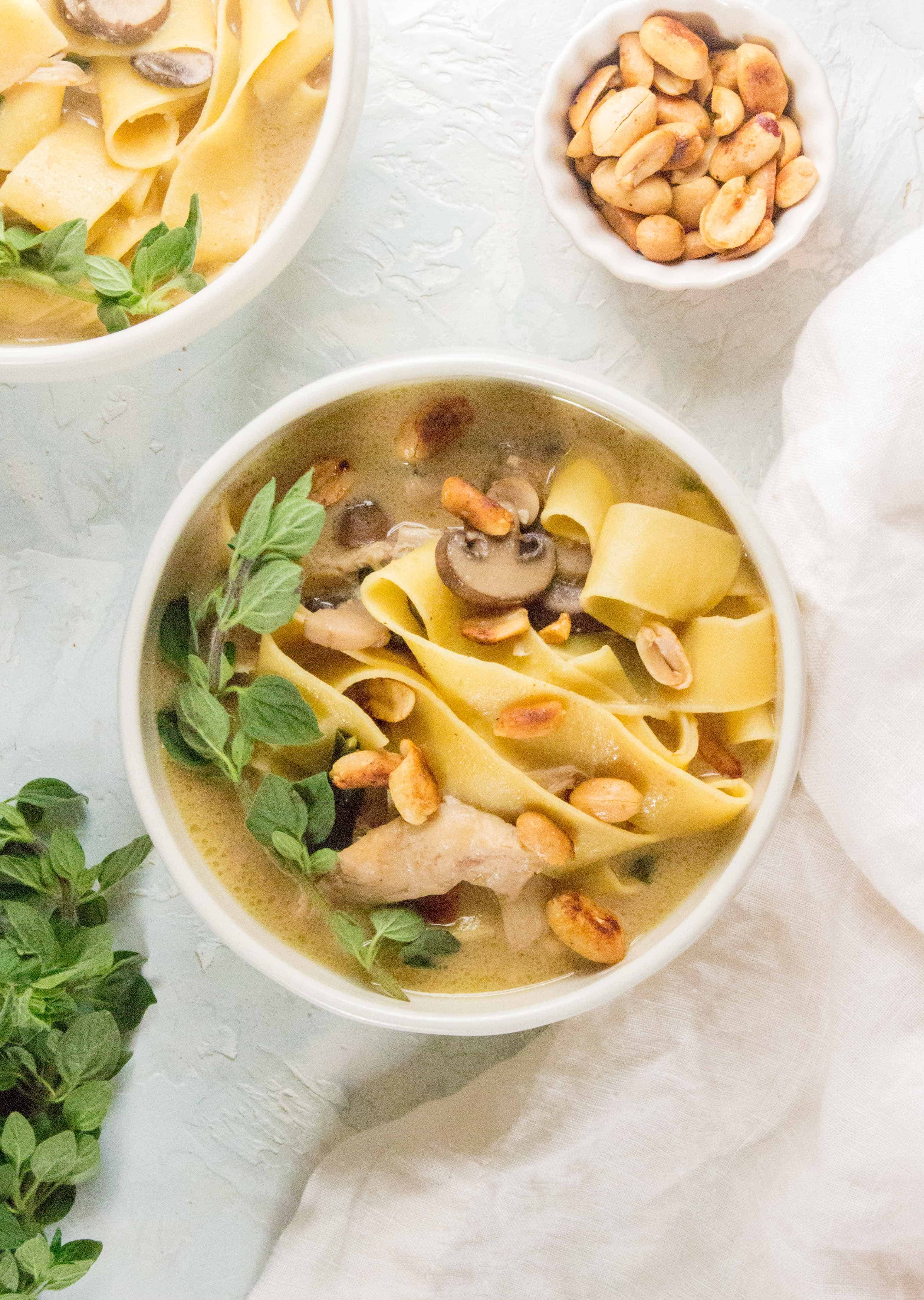 How To Make This Thai Inspired Chicken Noodle Soup