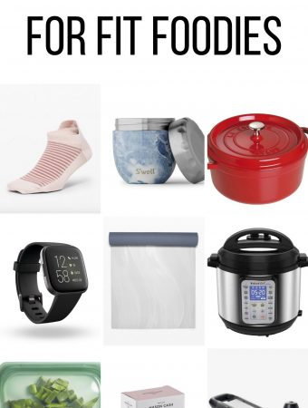 If you've got a friend who loves the fitness studio as much as spending time entertaining or eatingall the delicious food, here are some of my go-to gift ideas for the fit foodie in your life!