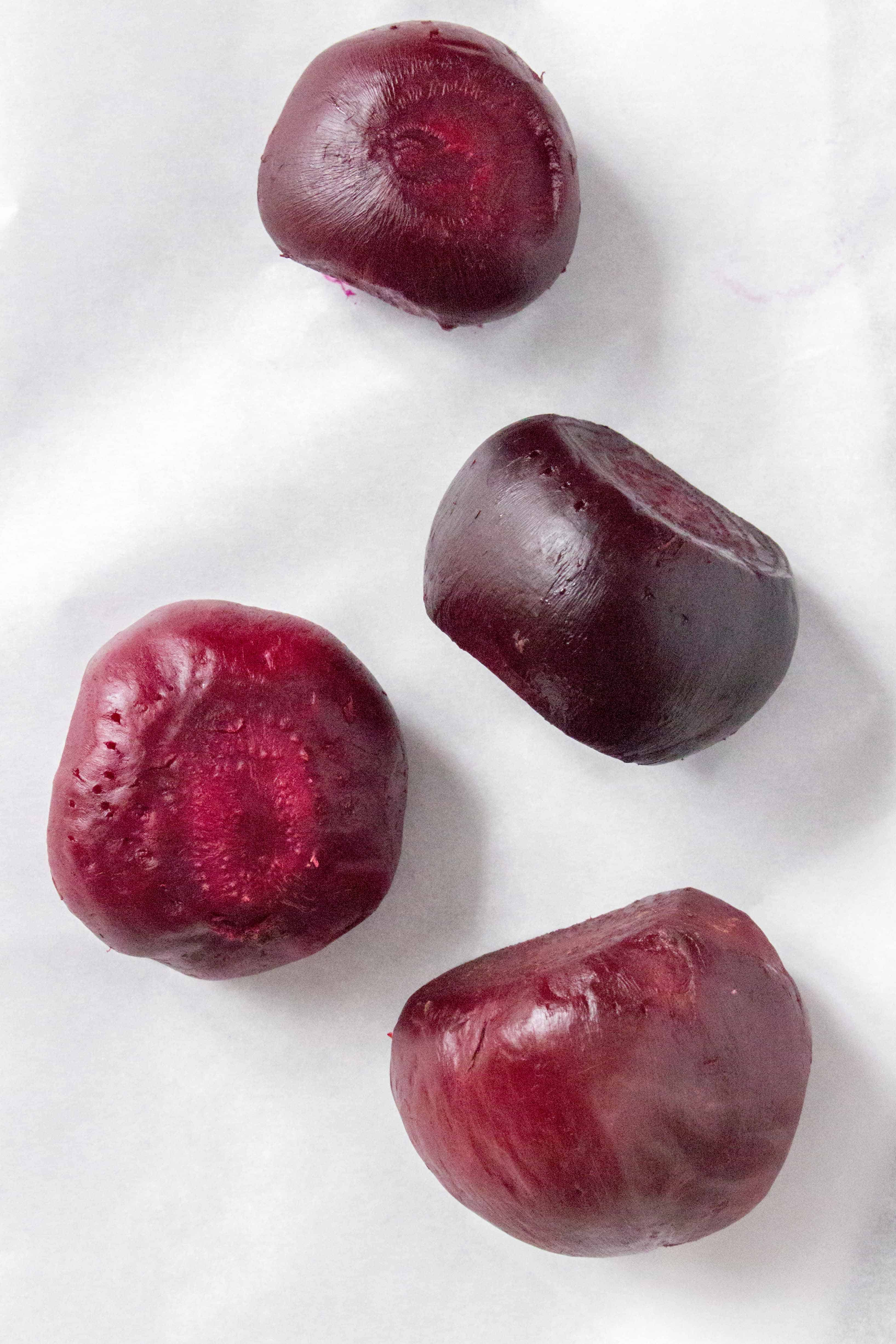 How to easily peel oven roasted beets
