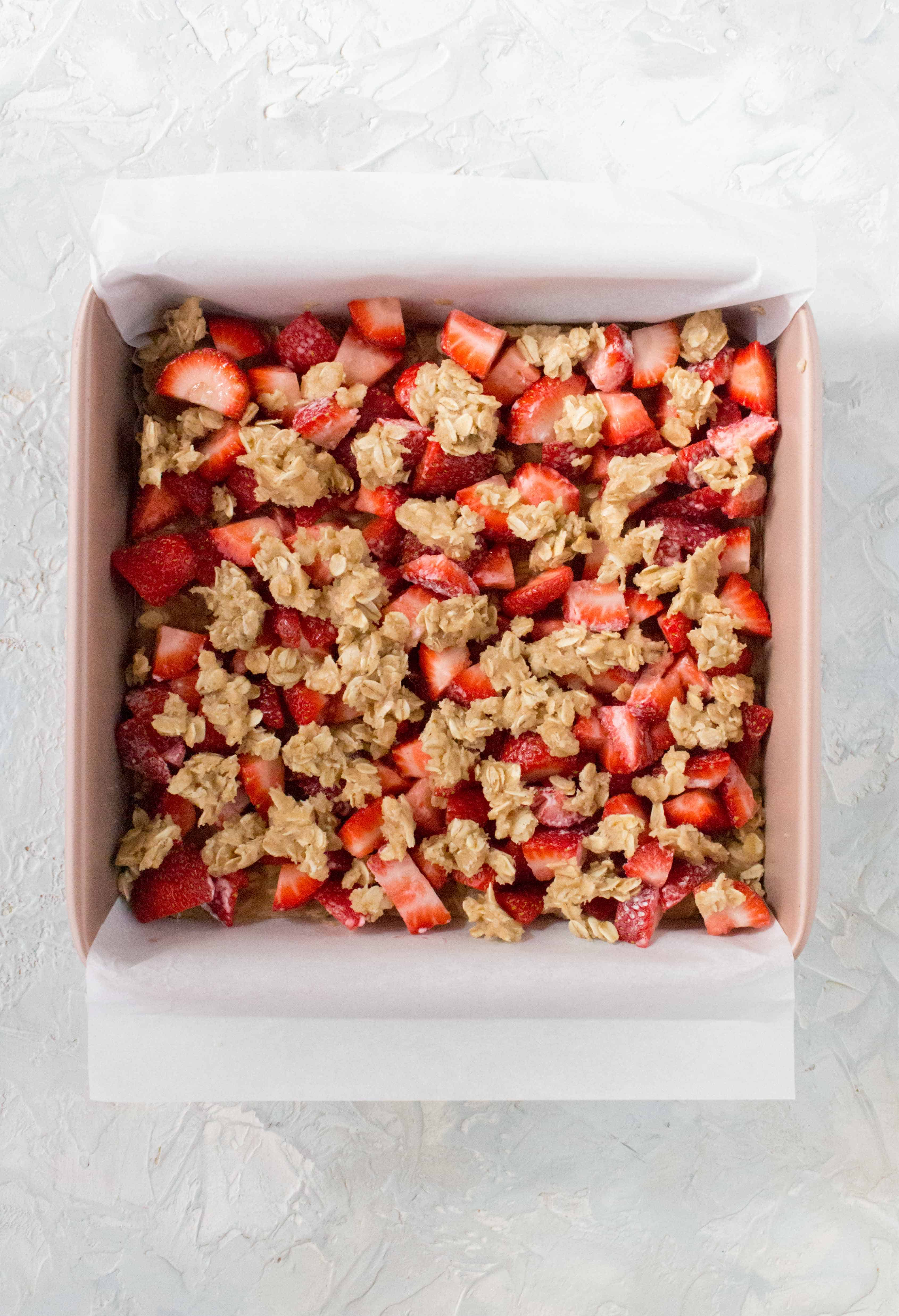 How To Make Strawberry Lemon Oatmeal Bars