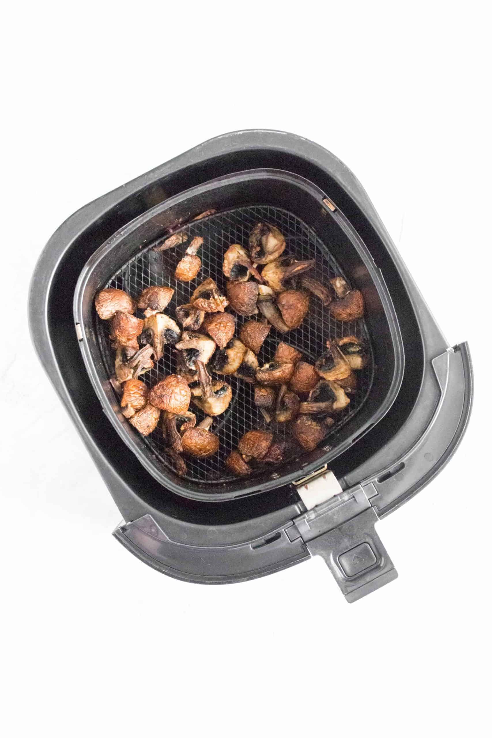 How To Roast Mushrooms in the Air Fryer