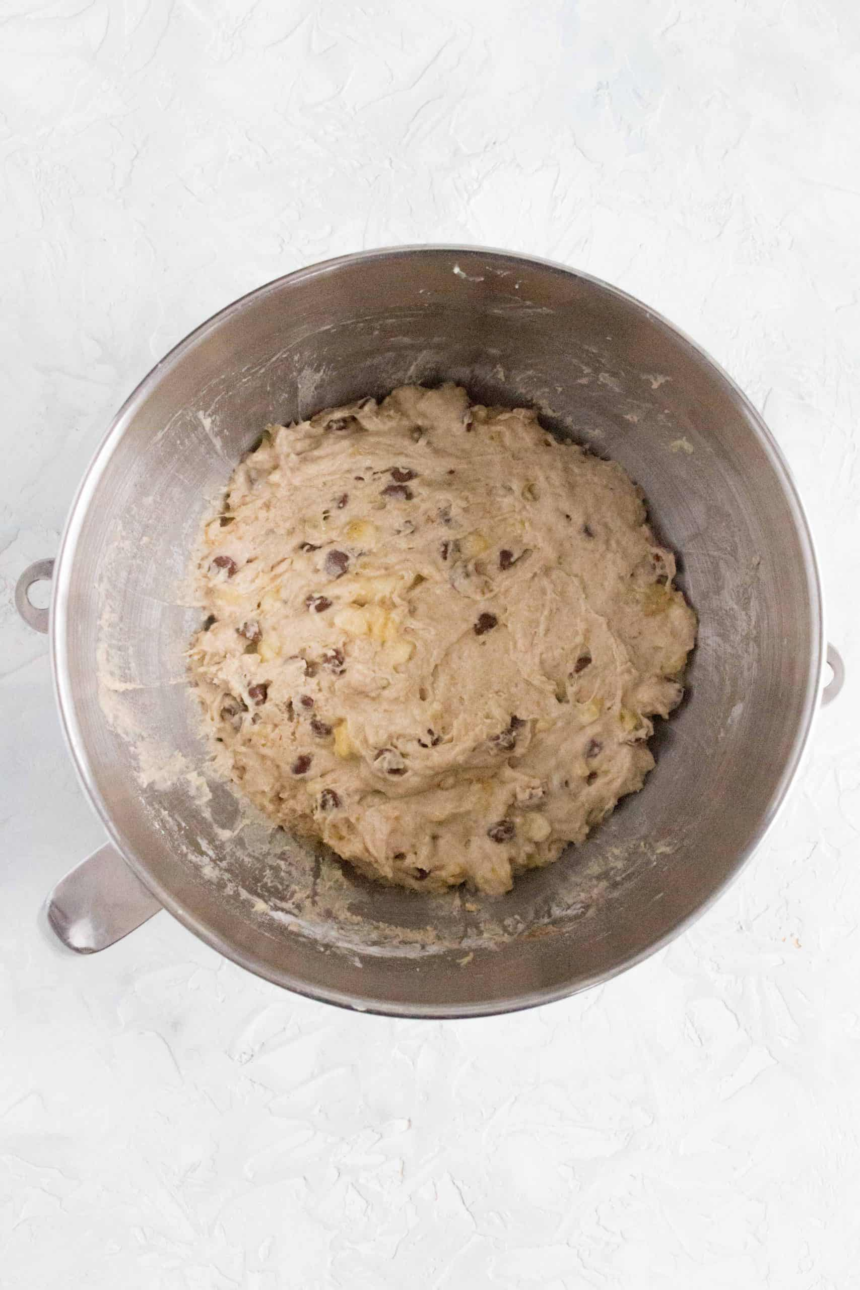 banana chocolate chip muffin mix