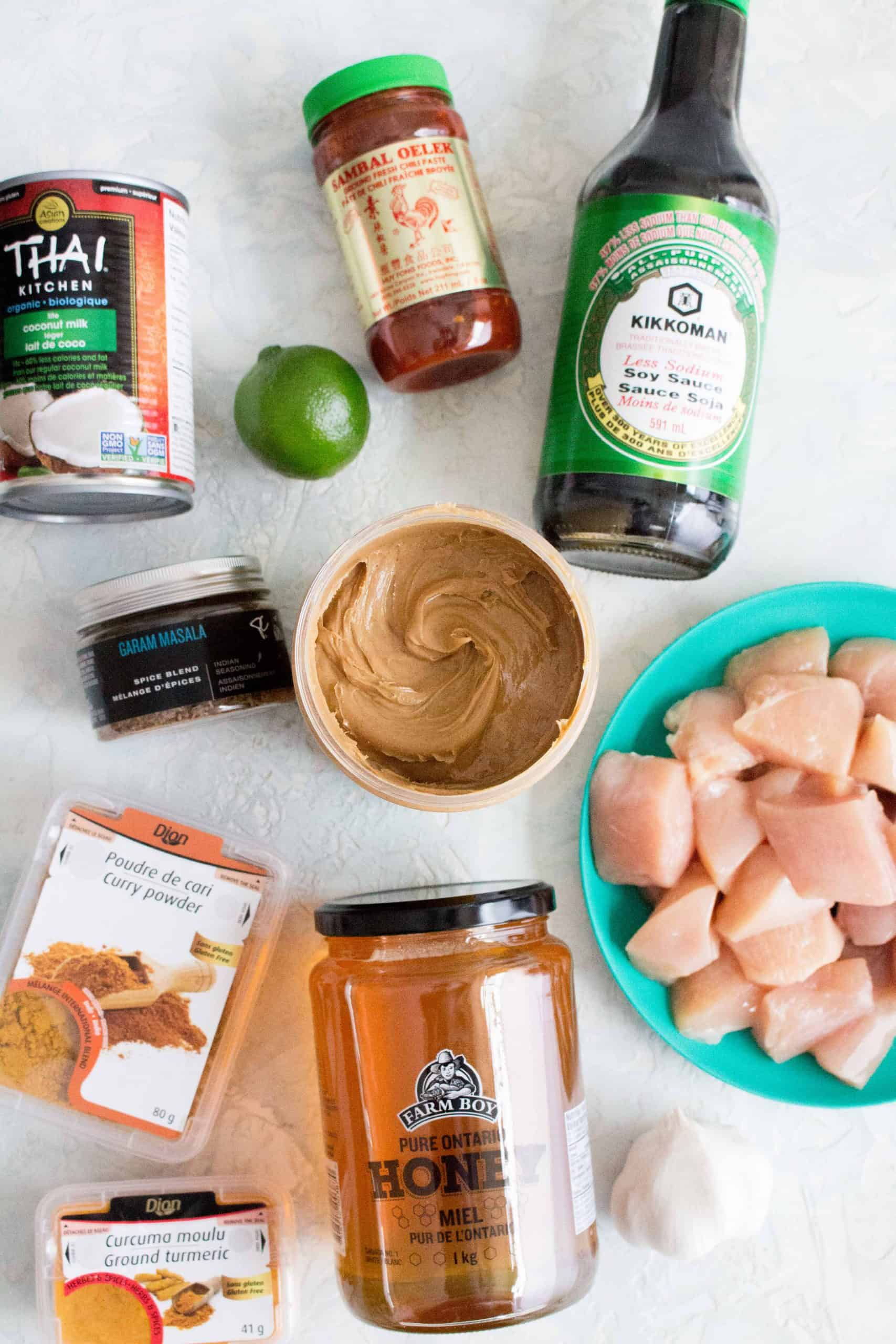 What You'll Need To Make This Instant Pot Chicken Peanut Satay