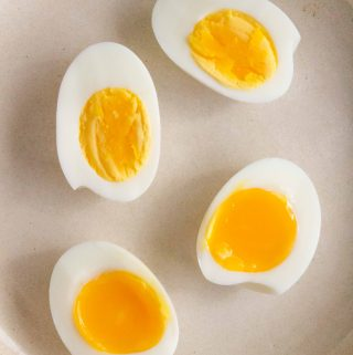 These perfect Easy Peel Instant Pot Hard Boiled Eggs take little to no time to make and come out perfect every time! Make a batch for snacking, breakfast, or meal prep this week!