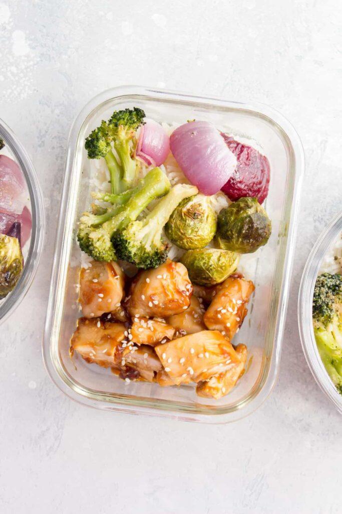 Honey Garlic Chicken Breast Meal Prep Back To School Meals