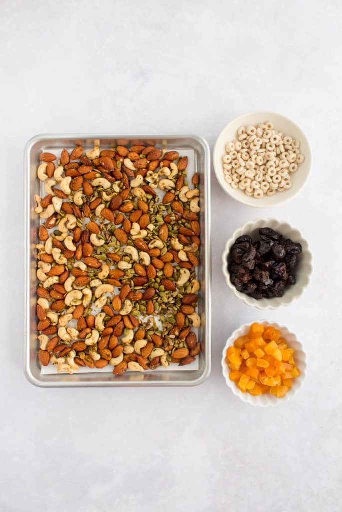 ingredients for trail mix