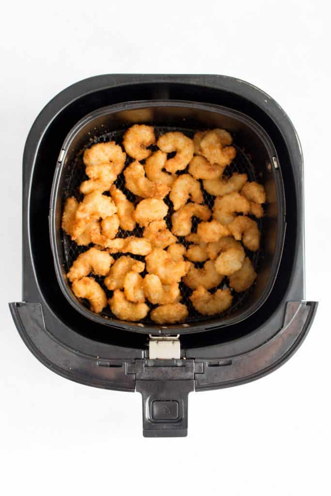 Air Fryer Popcorn Shrimp Frozen Breaded Popcorn Shrimp